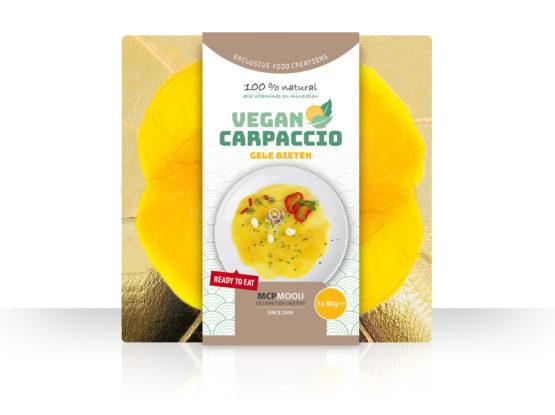 Gele bieten carpaccio